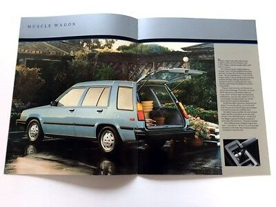 Parts Accessories 1984 Toyota Tercel And 4wd Wagon 16 Page Original Car Brochure Catalog Other Car Manuals