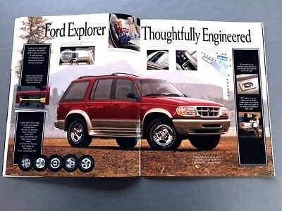 1995 Ford Explorer 34-page Original Car Sales Brochure Catalog