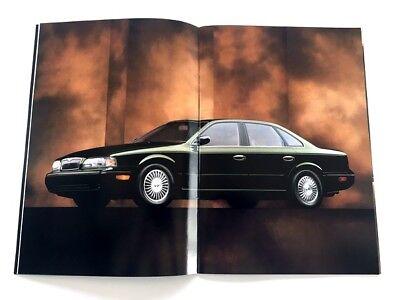 1997 Infiniti Line Sales Brochure Book Q45 I30 J30 QX4