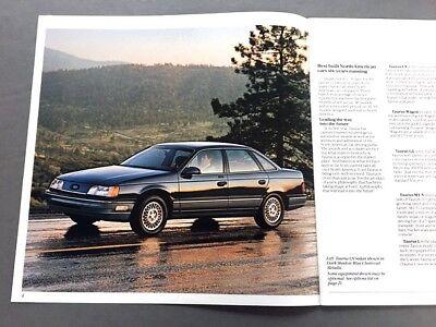 1988 Ford Taurus Dealer Sales Brochure Catalog