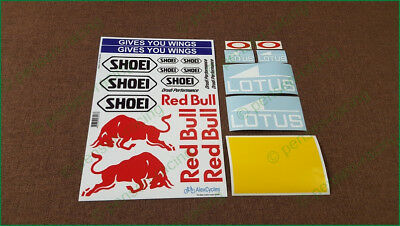 Marc Marquez Helmet Decals Stickers Complete Sponsor Race Shoei High Quality Kit 2