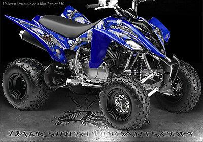 Raptor 350 Plastics >> Yamaha Raptor 350 Graphics Designed For Blue Plastics The Freak