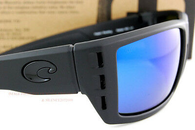 3d8fcf14dd2 ... New Costa Del Mar Fishing Sunglasses RAFAEL Blackout Blue Mirror 580G  Polarized 4
