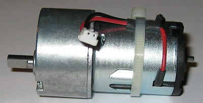 """12V DC .25/"""" Shaft Diameter 3.5/"""" Long 30 RPM Heavy Duty Gearhead Motor"""