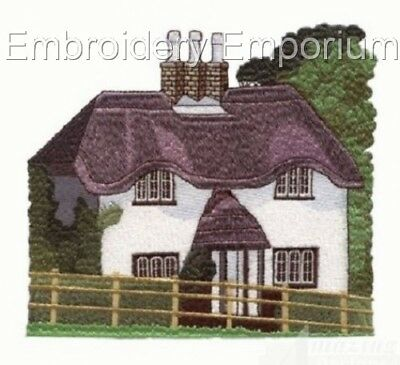 Jumbo Cottage magasins Designs-Machine Embroidery Designs sur cd ou USB