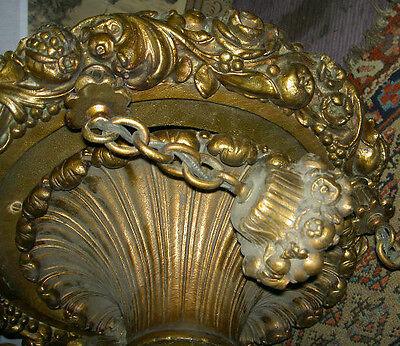 Antique Cast 50 Lb Baroque Style Deco Era Chandelier_ Price Reduced 65% Bargain! 8