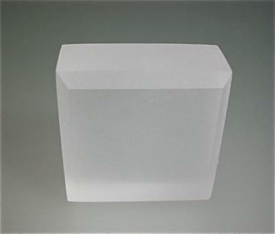 "3//4/"" Clear Frosted Matte Acrylic Sheet Plexiglas 12/""x12/"" AZM On Sale"