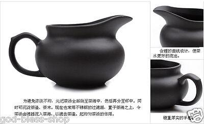Chinese kung fu tea set purple clay tea pot gaiwan mini cup solid wood tea tray 7