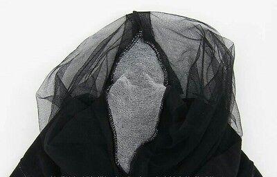 Ultra Thin Naked Sheer-to-Waist Comfort 3D Pantyhose Black 2