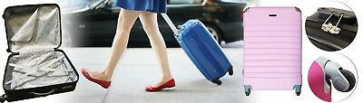 "20"" 24"" 28 inch Lock Travel Luggage Set ABS Lightweight Suitcase Hard Case 10"
