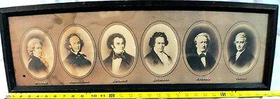 VINTAGE ART/ PRINT - The Greatest Composers, Mozart, Shubert, Beethoven,  Haydn