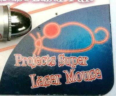 Armitage, LASER PEN CAT TEASER, PROJECTS A SUPER LASER MOUSE, BATTERIES INCLUDED 2