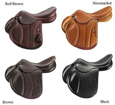 Selleria EQUIPE Soft Rolled Leather Rubber REINS RE17 Black//Brown//RedBrown C//F