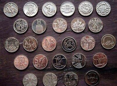 A - Z 10p COINS 2018 & 2019 ALPHABET COINS TEN PENCE COINS  Pick Your Letters 3
