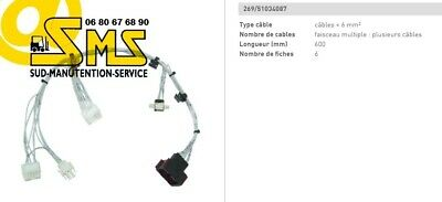 Cable Faisceau De Commande Cle 51034087 Cancode Canopen Jungheinrich Eje 2