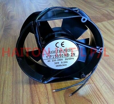 High quality WEIGUANG Shaded Pole Motor 150mm 220-240V 50HZ 36W 0.24A 2600r/min 4