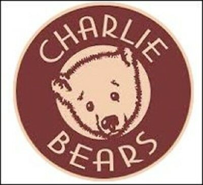 "SAVE! GEORGINA Charlie Bears 11"" Plush Panda by Isabelle Lee CB171769A - NEW!"