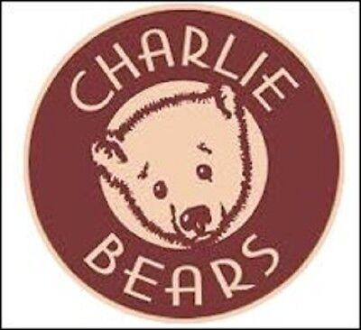"TAGGLE Charlie Bears 14.5"" Plush Panda Bear by Isabelle Lee CB181830B - NEW!"