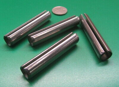 """420 Stainless Steel, Slotted Roll Spring Pin, 1/2"""" Dia x 2 1/2"""" Length, 4 pcs 6"""