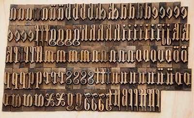 Prägeschrift 23 mm Messingschrift Buchbinder Messing Buchbinden Vergoldepresse 3