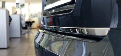Heckklappe Leiste aus Edelstahl V2A Poliert für Opel Grandland X 2017-