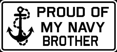 Proud of My Navy Daughter Vinyl Car Window Decal Bumper Sticker US Seller
