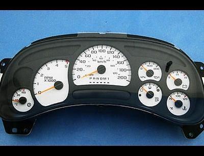 2003 chevy duramax gauge cluster