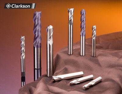 2mm HSSCo8 M42 4 FLUTED COBALT END MILL EUROPA TOOL CLARKSON 1071020200  74 7