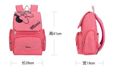 DISNEY Mickey Minnie Baby Maternal Stroller Maternity Nappy Bag 10