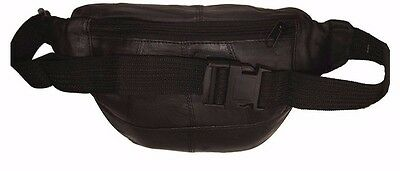 8671c06f1ca7 LEATHER FANNY PACK Travel Waist Bag Pouch Large Cell Holder, Extention belt  18