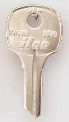 KABA ILCO 1092D-M12 Key Blank,Brass,Type M12,5 Pin,PK10