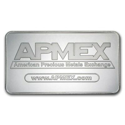 10 Ounce oz .999 Silver Bar - APMEX 2