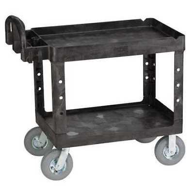 Utility Cart,500 lb. Load Cap.,PPL RUBBERMAID FG452010BLA