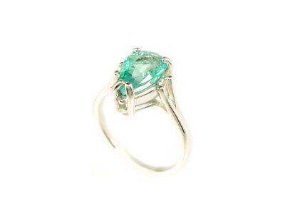 19thC Antique 2ct Siberian Emerald Medieval Shaman Magician Prophecy Evil Spirit 7