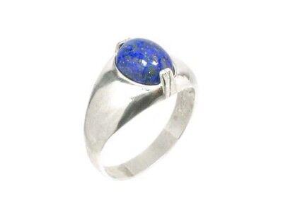 19thC Antique Gemstone 3½ct Lapis Lazuli Ring Ancient Gem of Heaven 2