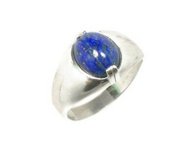 19thC Antique Gemstone 3½ct Lapis Lazuli Ring Ancient Gem of Heaven 7
