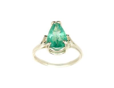 19thC Antique 2ct Siberian Emerald Medieval Shaman Magician Prophecy Evil Spirit 8