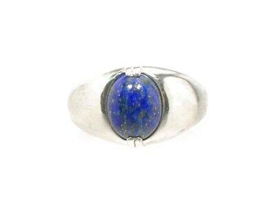 19thC Antique Gemstone 3½ct Lapis Lazuli Ring Ancient Gem of Heaven 4