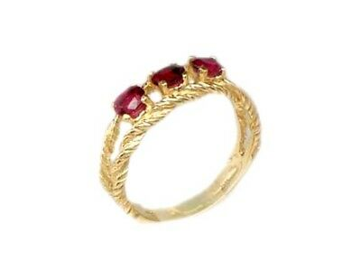 Gold Ruby Ring ¾ct Siam Antique 19thC Gem of Ancient Asia Warrior Invincible 10k 7