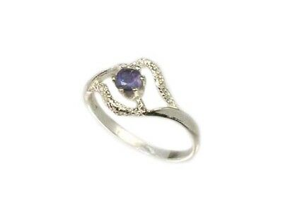 Ring Alexandrite Antique 19thC Russia Natural ¼ct Color-Change Genuine Handcut 3