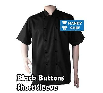 Quality Chef Jacket-Black or White-Brand New See Handychef store for Pants,Apron 2