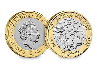 2019 2020 £2 coin Two pound coins BRITANNIA, D-DAY,  AGATHA CHRISTIE, MAYFLOWER 7