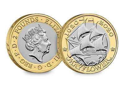 2019 2020 £2 coin Two pound coins BRITANNIA, D-DAY,  AGATHA CHRISTIE, MAYFLOWER 8
