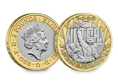 2019 2020 £2 coin Two pound coins BRITANNIA, D-DAY,  AGATHA CHRISTIE, MAYFLOWER 9