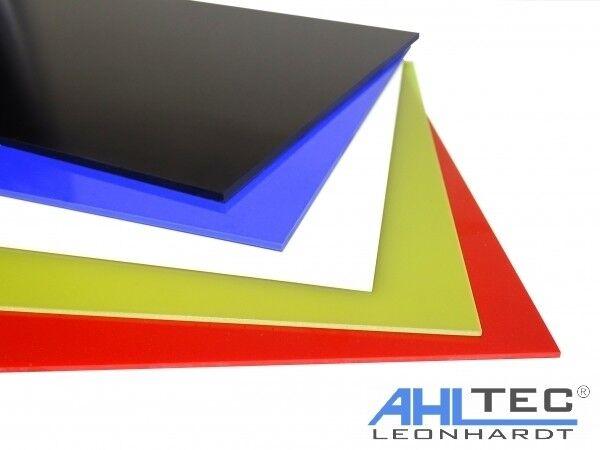 GFK Platte G10 FR4 orange Glasfaser Größe wählbar Dicke 2,0 mm