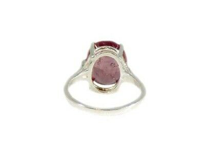 Red Sapphire Ring Antique Black Magic Gem 19thC Medieval Oracle Sorcery Prophecy 7
