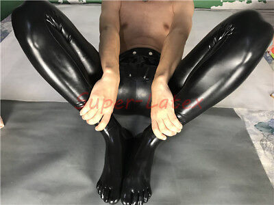 Men/'s Rubber Trousers With Toes Latex Trousers Customized