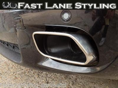 BMW X5 E70 Custom Build Stainless Steel Exhaust Rear Dual System