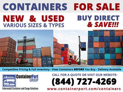 CONEX Intermodal Shipping Container Cleveland, Ohio 3