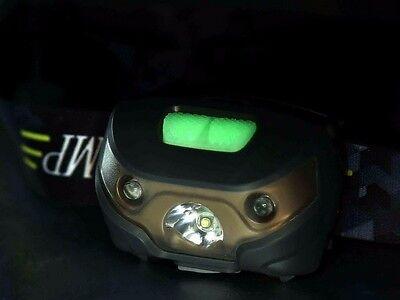 Super Bright Waterproof Head Torch/Headlight LED USB Rechargeable Headlamp Fish